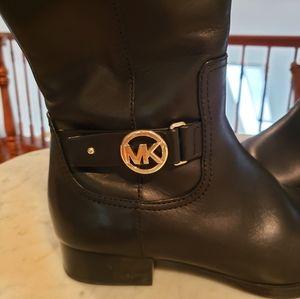 Michael Kors Logo Boots